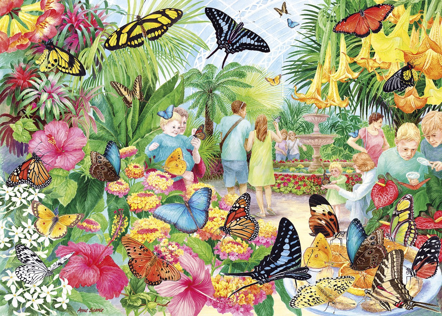 Butterfly House, 1000pc Puzzle