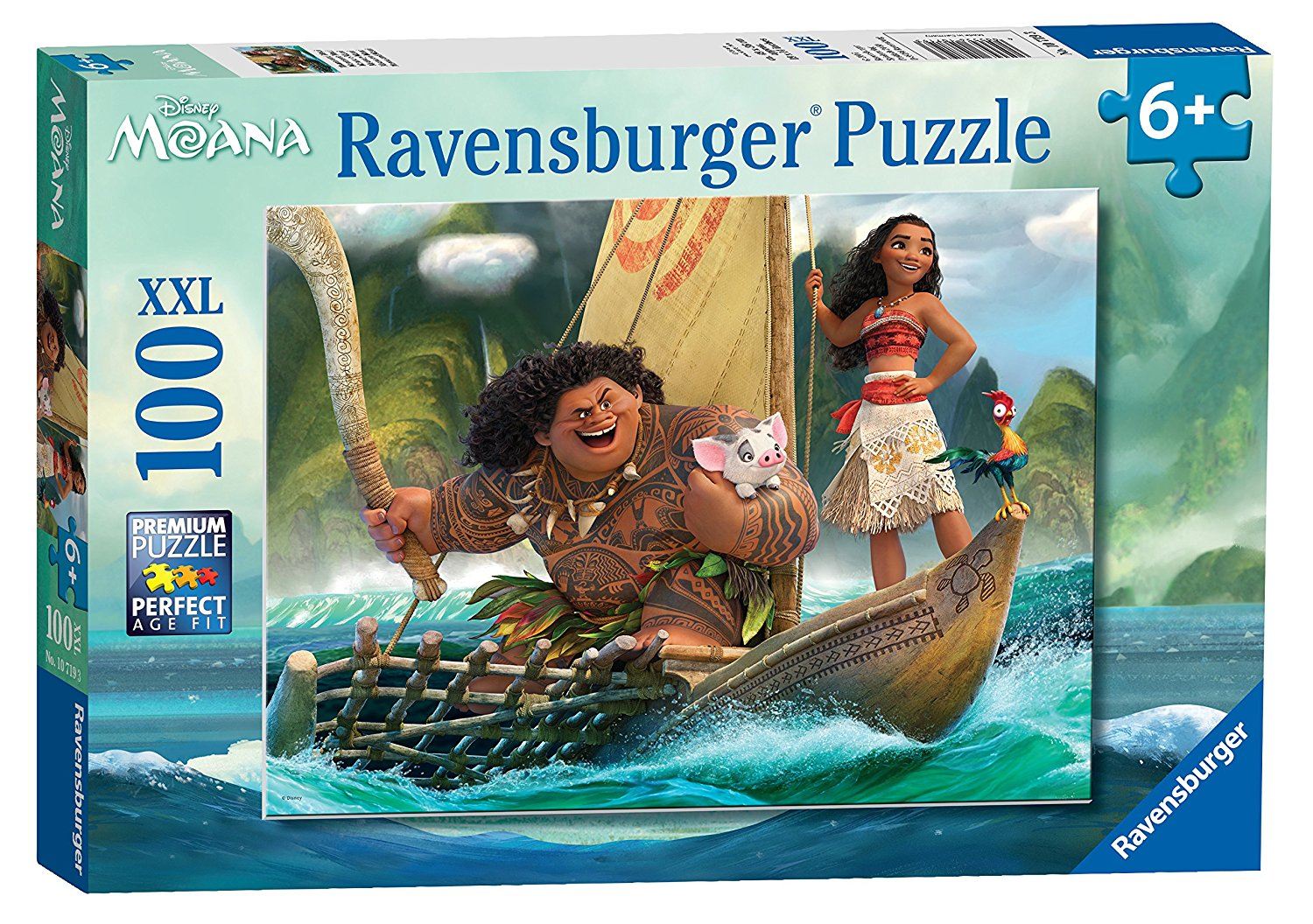 Disney Moana, XXL 100pc