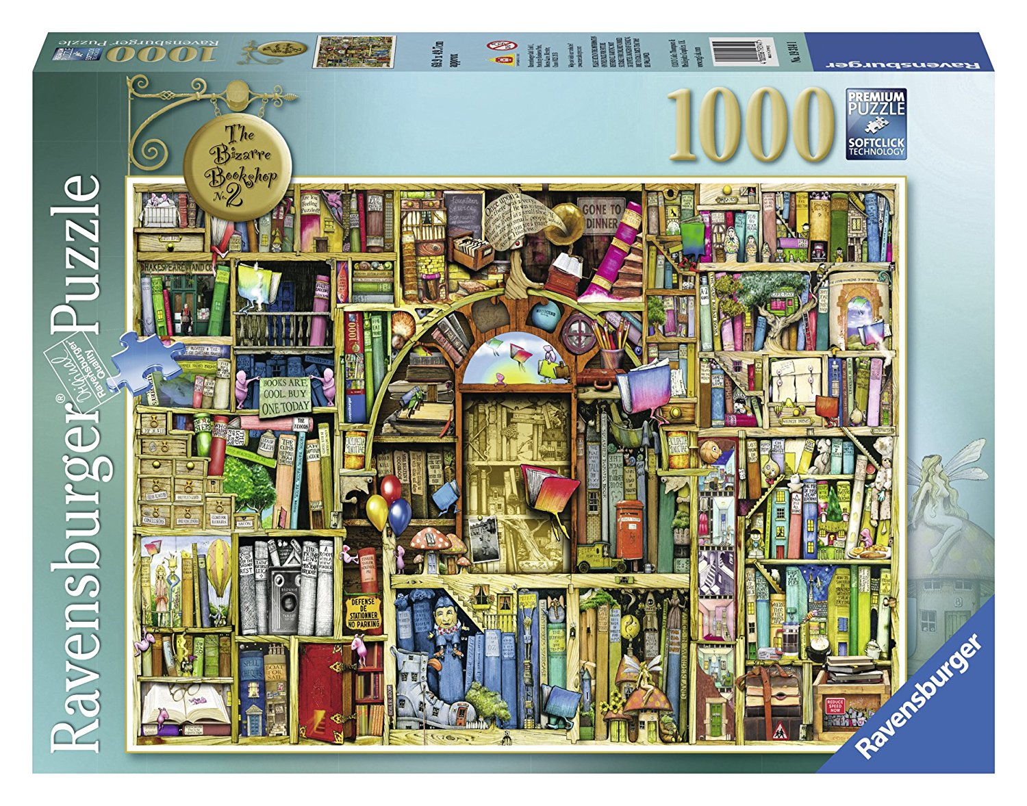 Colin Thompson, The Bizarre Bookshop 2, 1000pc