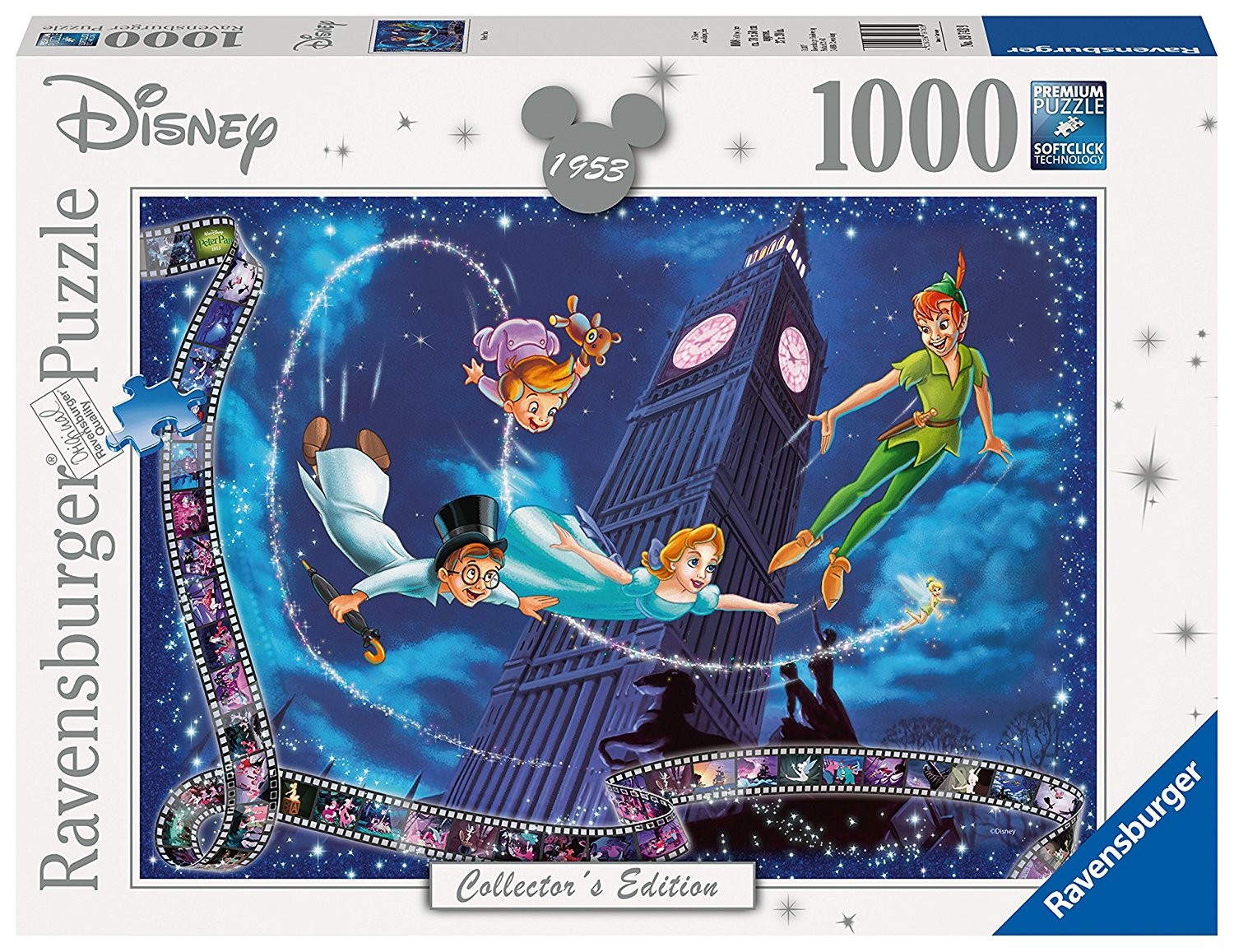 Peter Pan Disney Collector's Edition, 1000pc