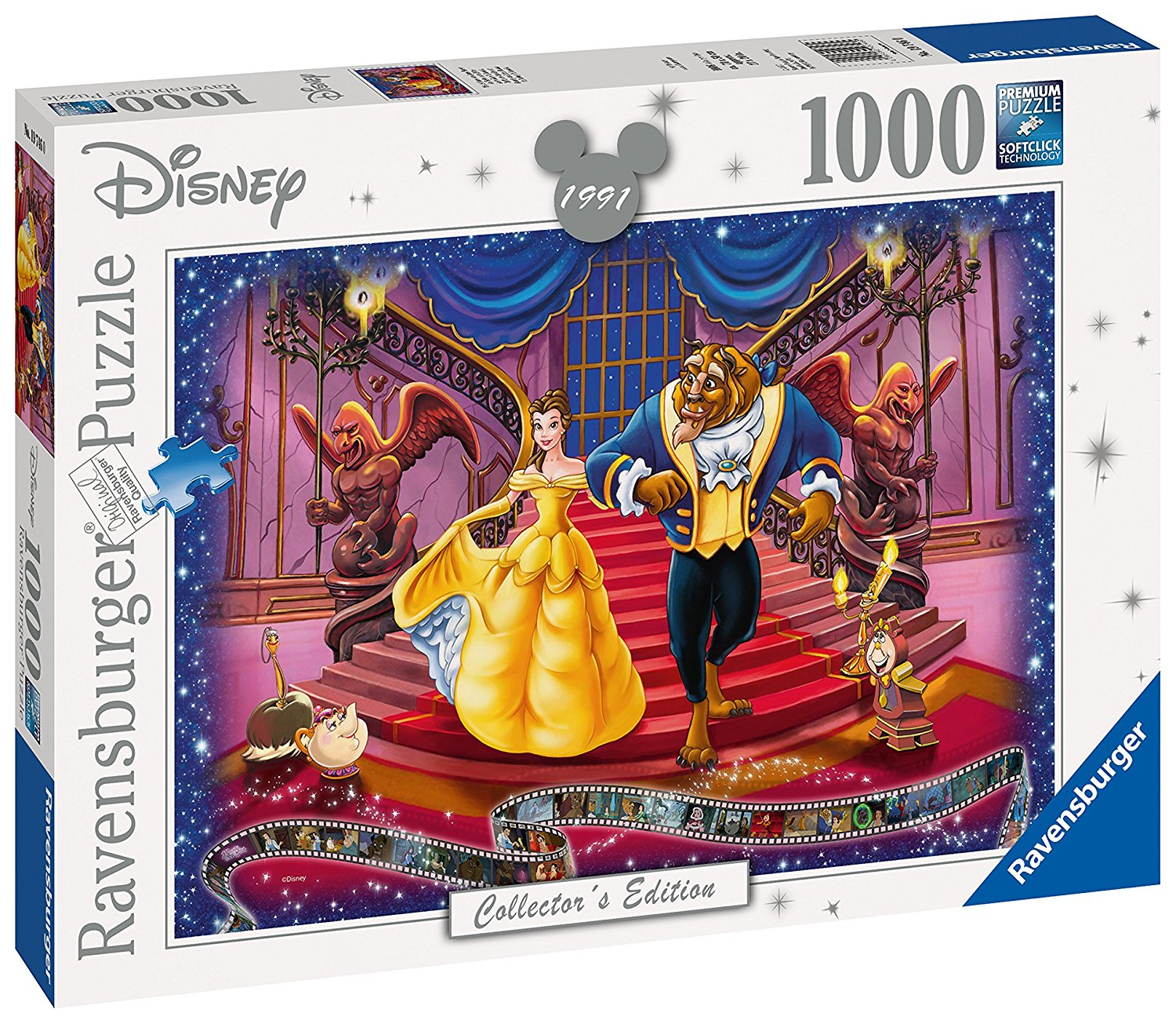 Beauty And The Beast Disney Collector's Edition, 1000pc