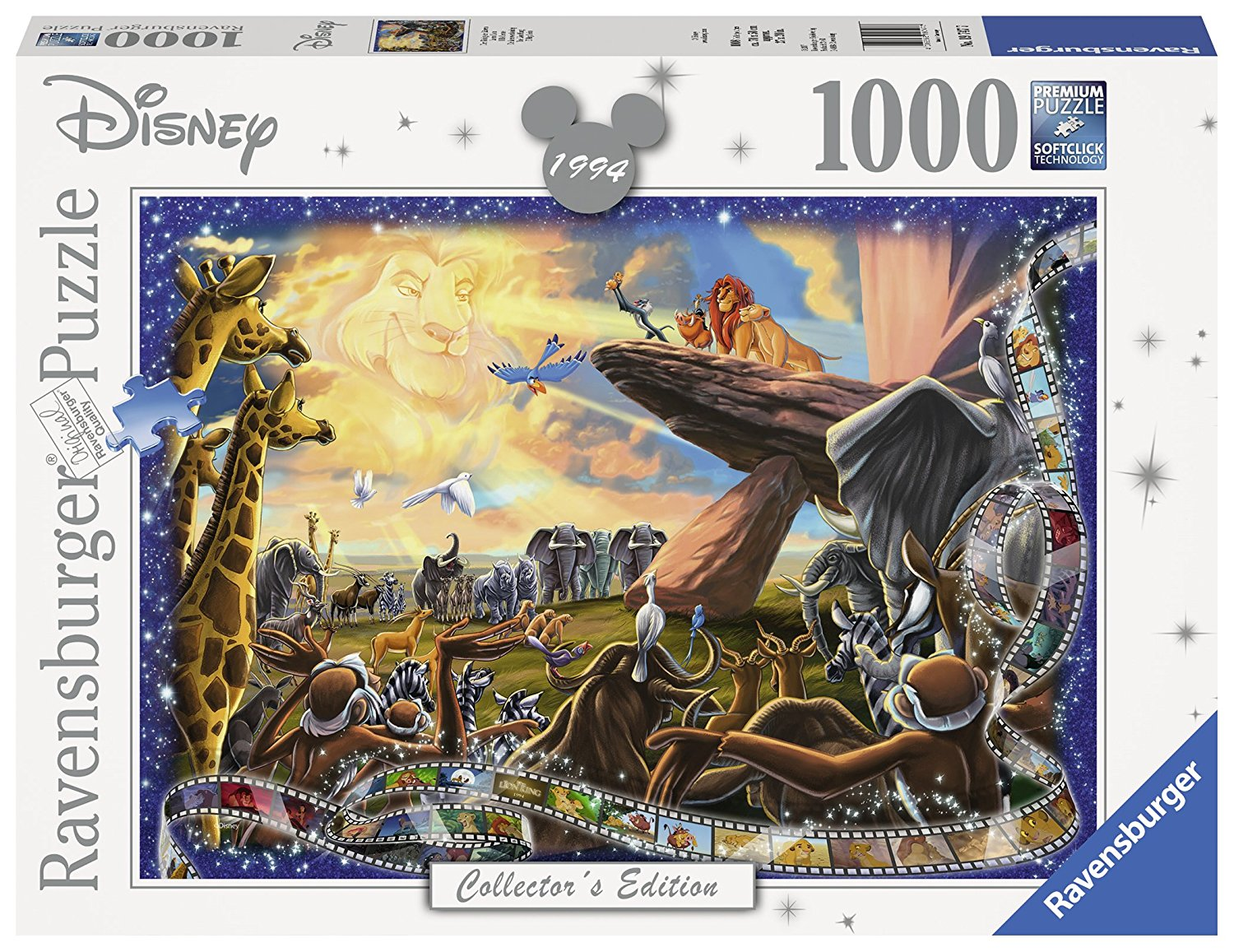 The Lion King Disney Collector's Edition, 1000pc