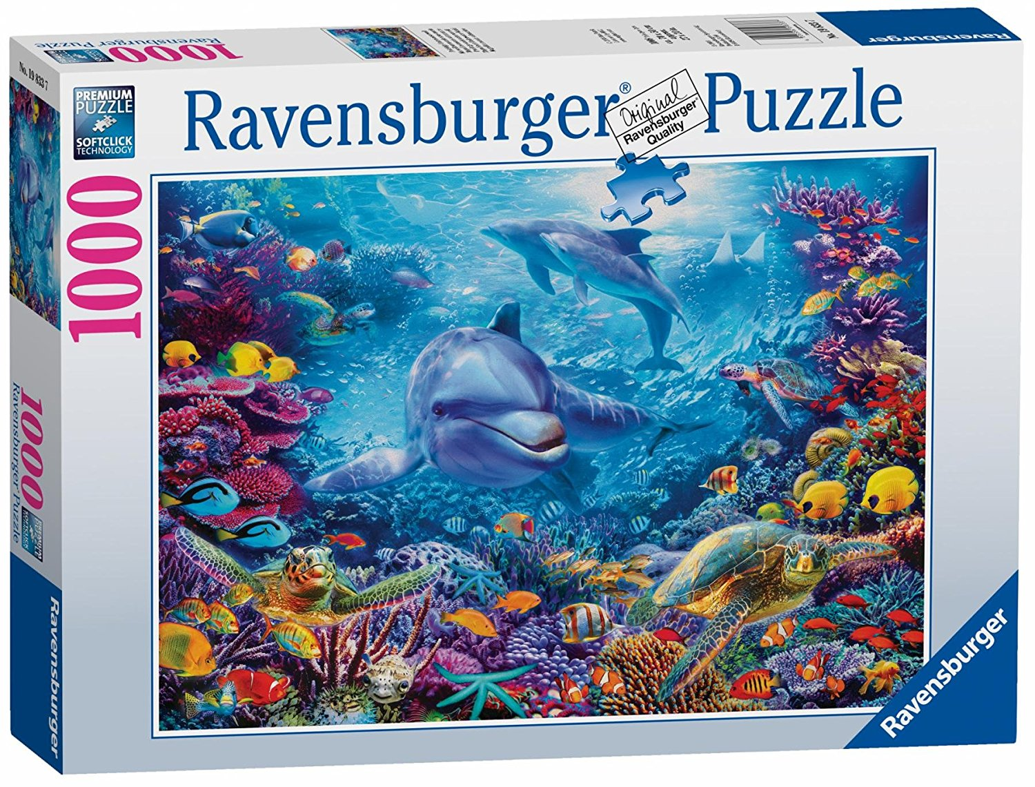 Magnificent Underwater World, 1000pc