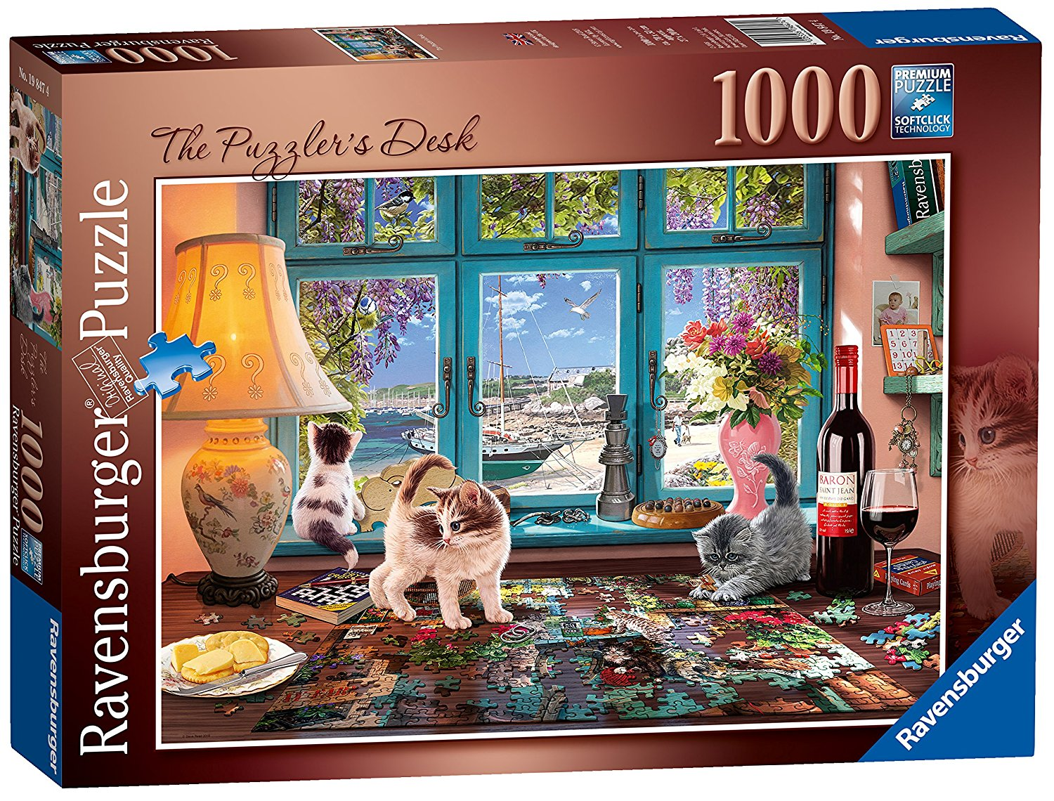 The Puzzlers Desk Jigsaw, 1000pc