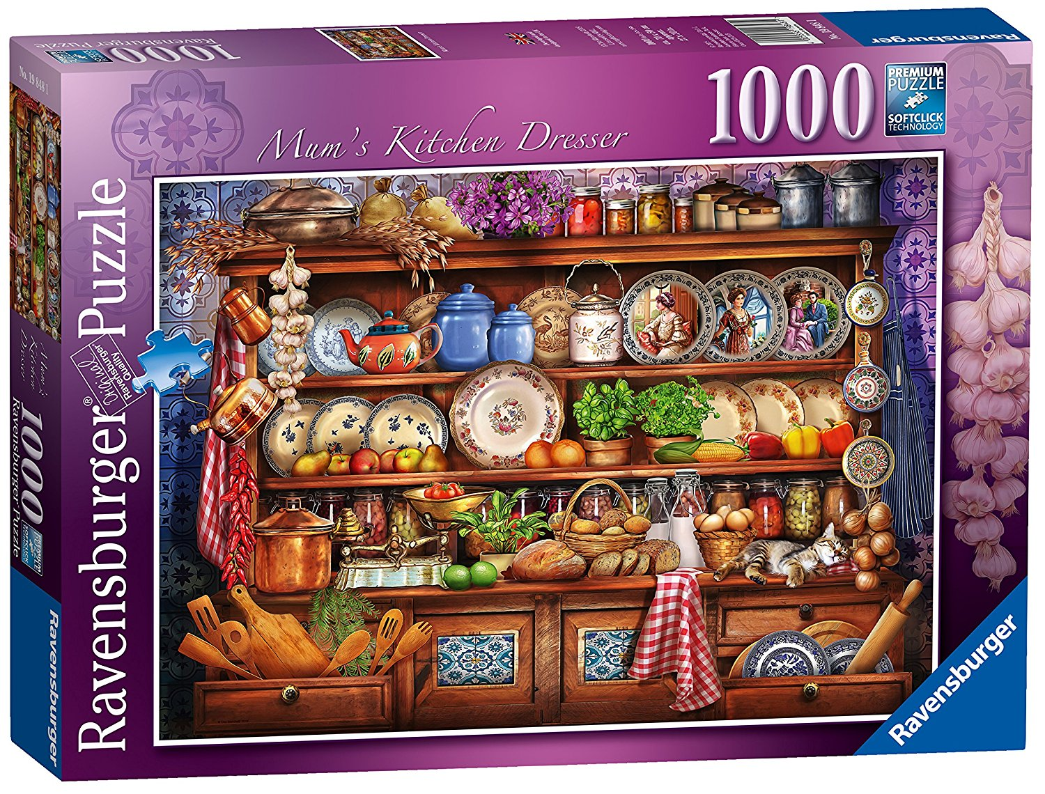 Mum's Kitchen Dresser, 1000pc