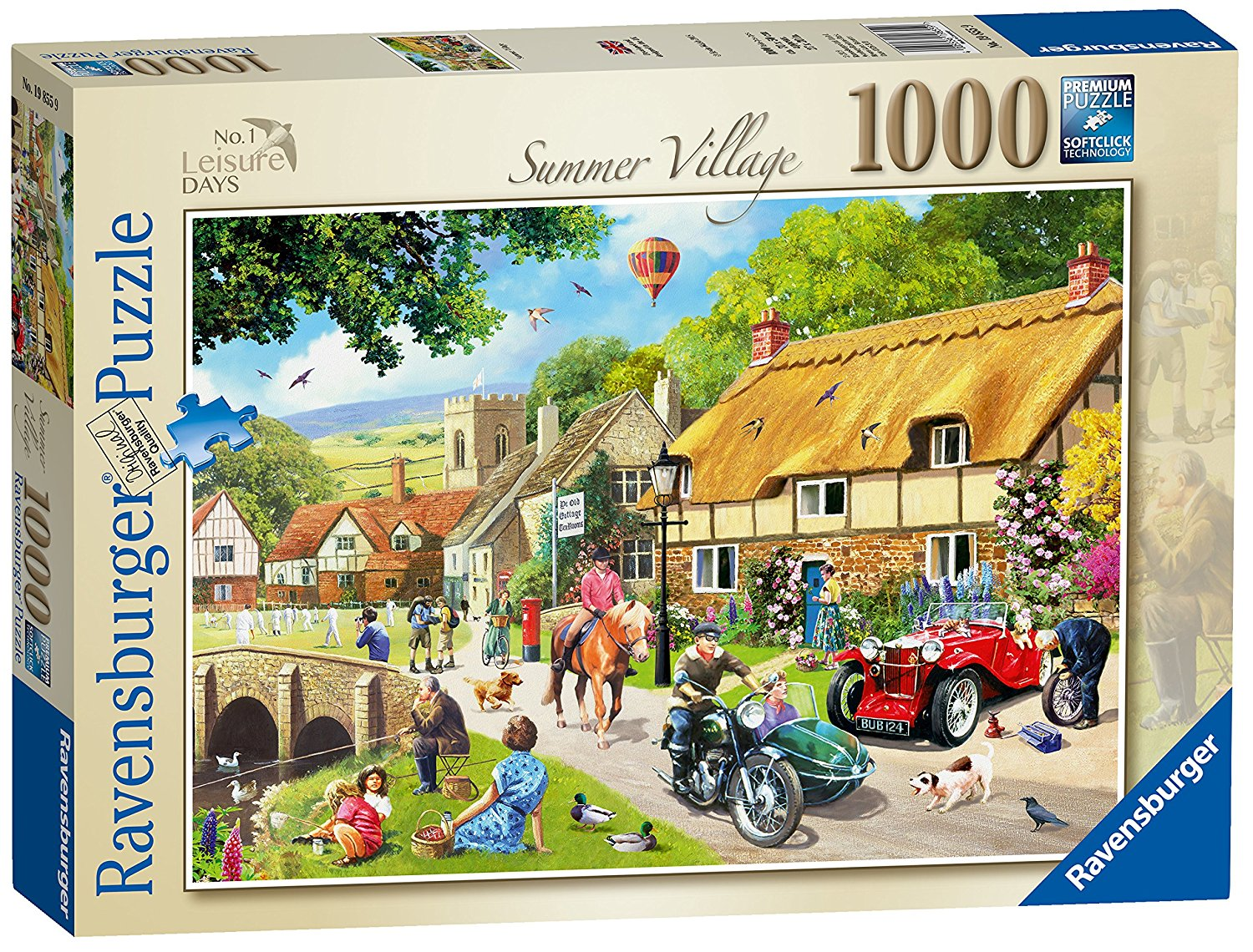 Summer Village Jigsaw, 1000pc