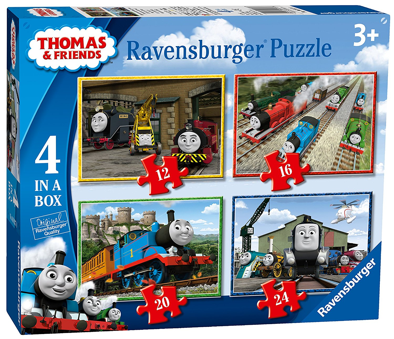 Thomas & Friends 4 in Box, 12pc, 16pc, 20pc & 24pc