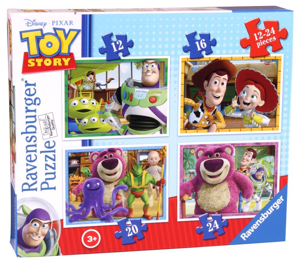 Disney Toy Story 4 in Box, 12pc, 16pc, 20pc & 24pc