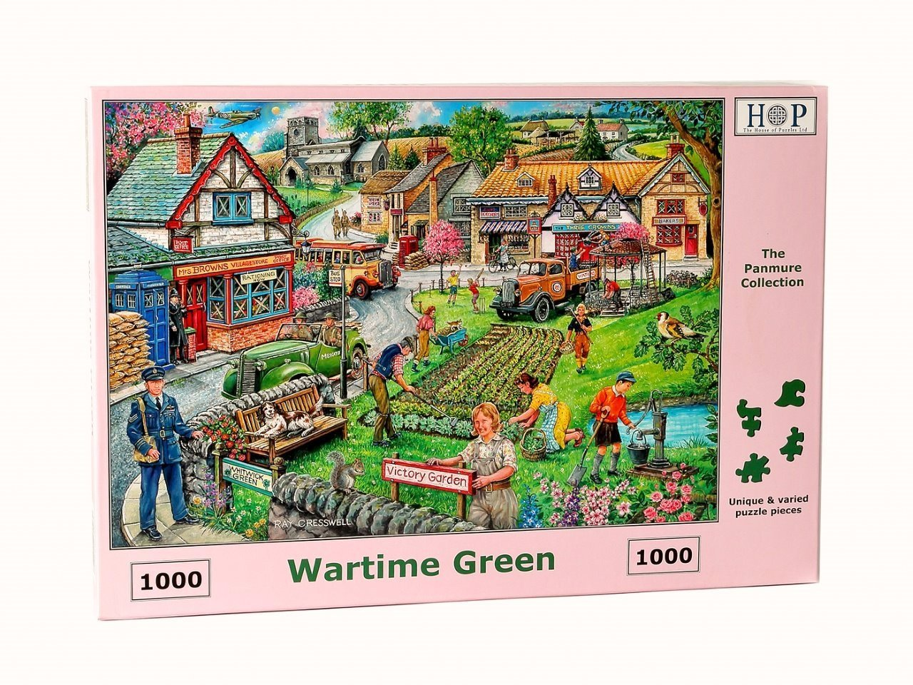 Wartime Green, 1000pce