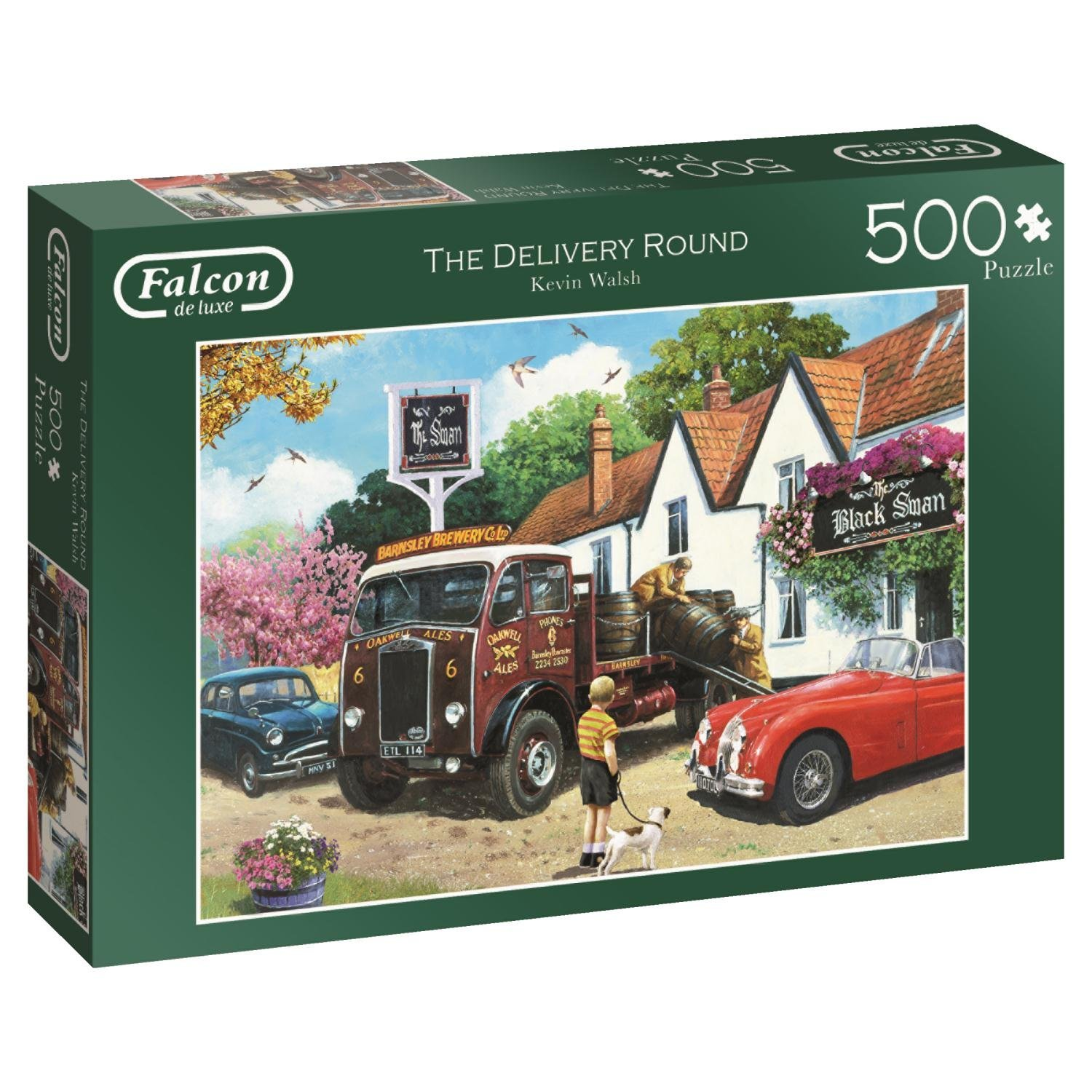 Falcon de luxe, The Delivery Round, Jumbo Jigsaw Puzzle 500pc