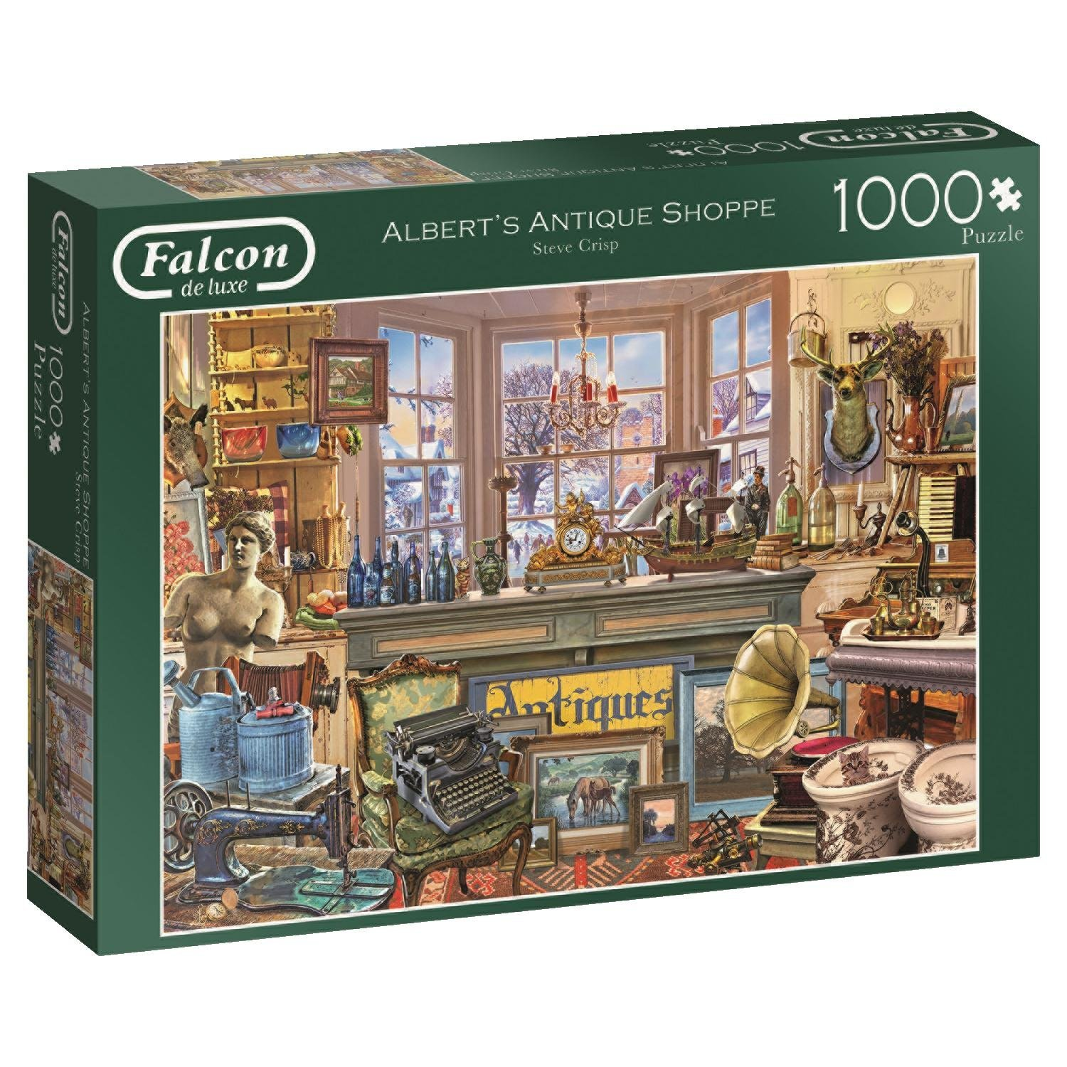 Falcon, Albert's Antique Shoppe, 1000pc Jumbo Jigsaw