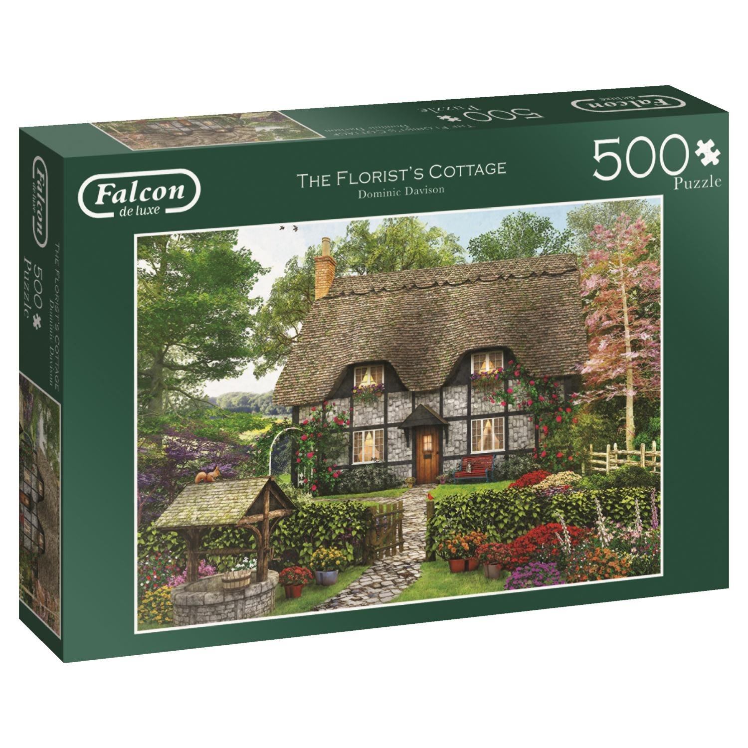 Falcon de luxe, The Florist's Cottage, Jumbo Jigsaw Puzzle 500pc