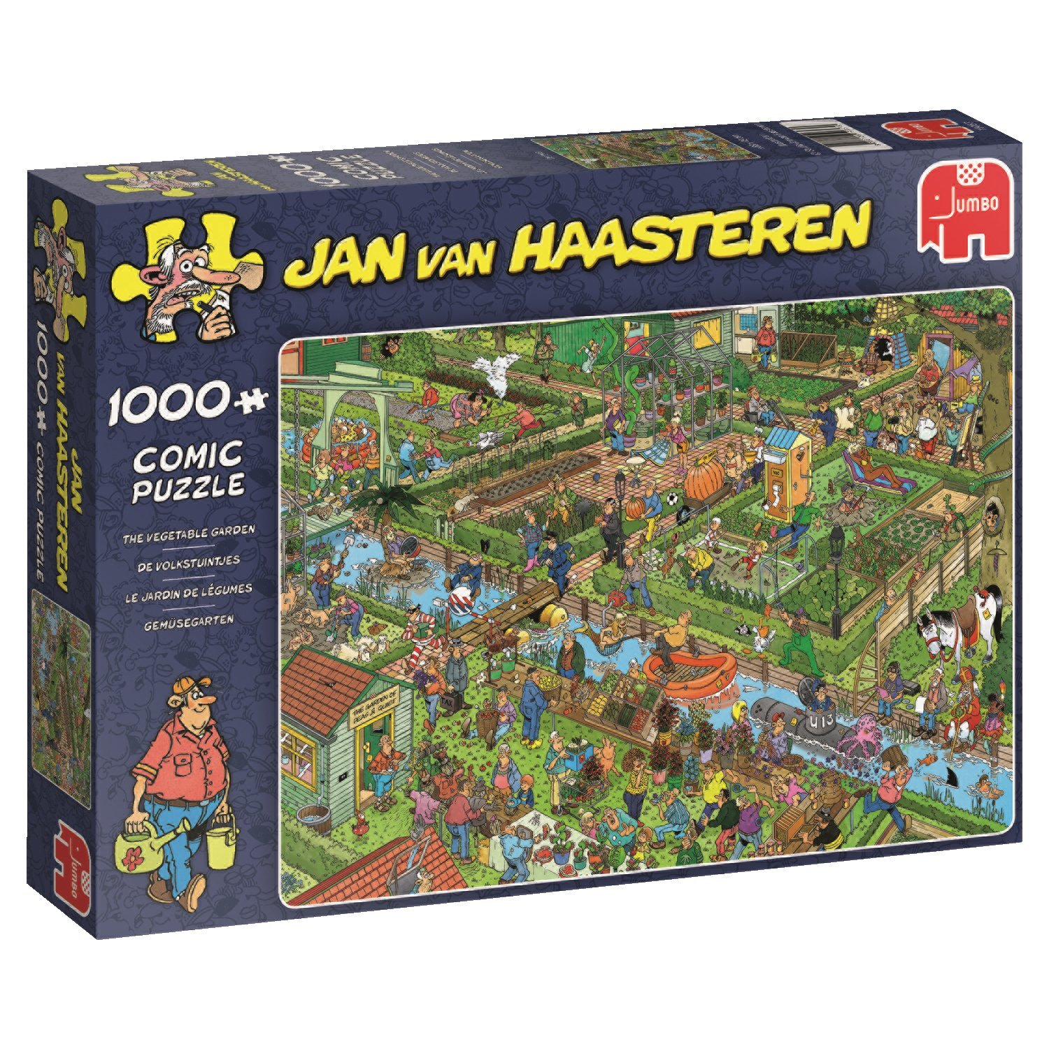Jan van Haasteren, The Vegetable Garden, 1000pc