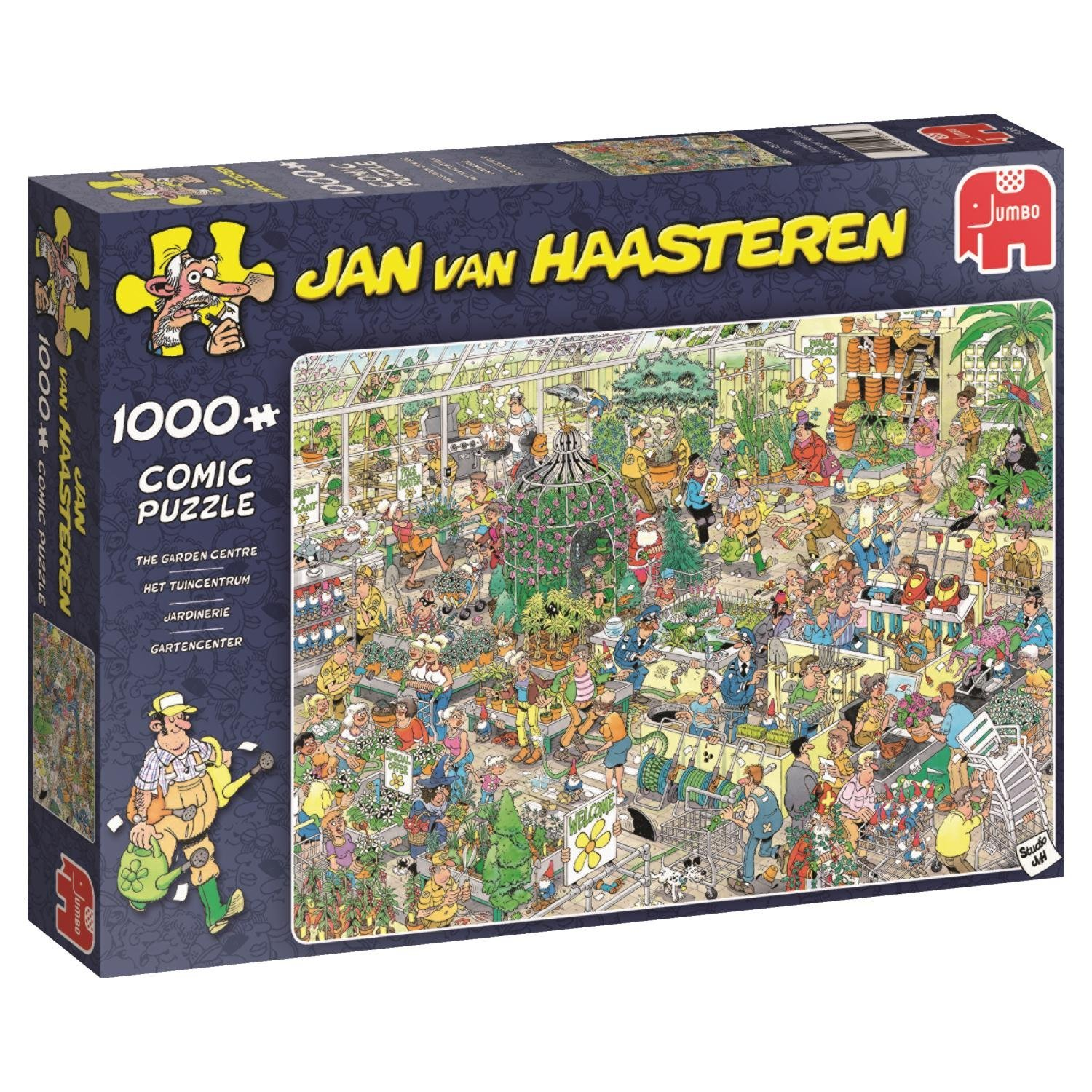 Jan van Haasteren, Garden Centre, 1000pc