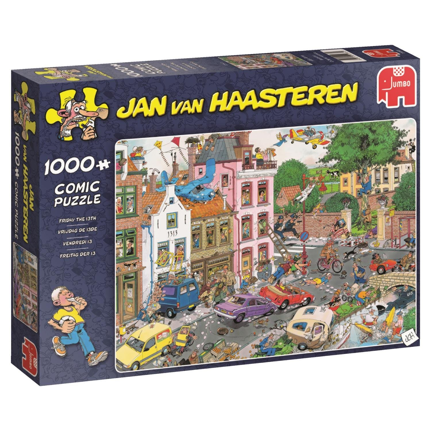 Jan van Haasteren, Friday The 13th, 1000pc