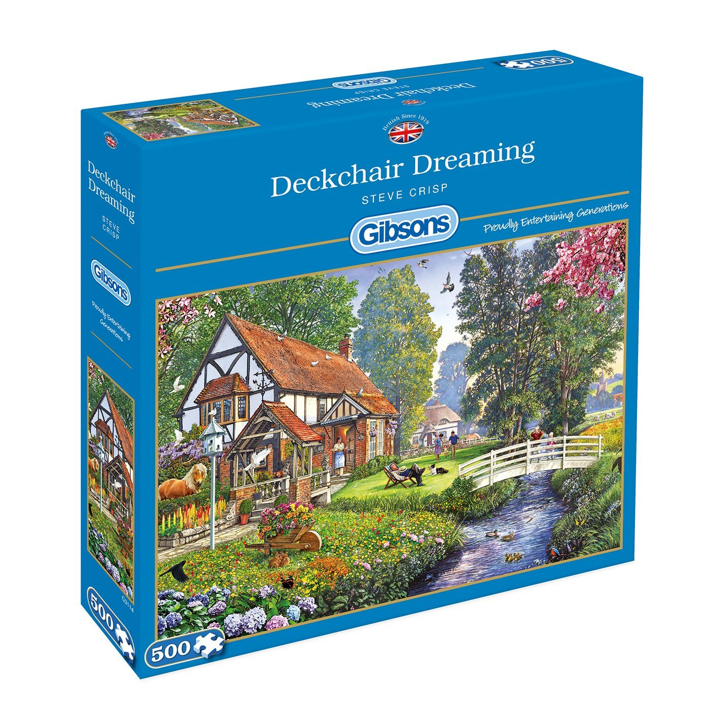 Deckchair Dreaming, 500pc puzzle
