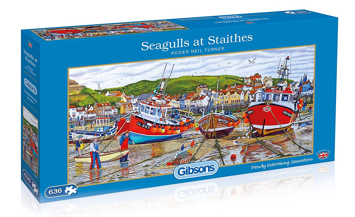 Seagulls At Staithes, 636pc puzzle