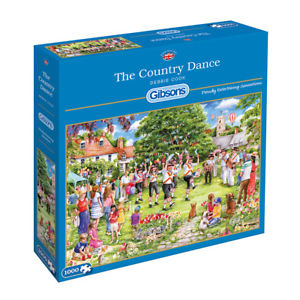 The Country Dance, 1000pc Puzzle
