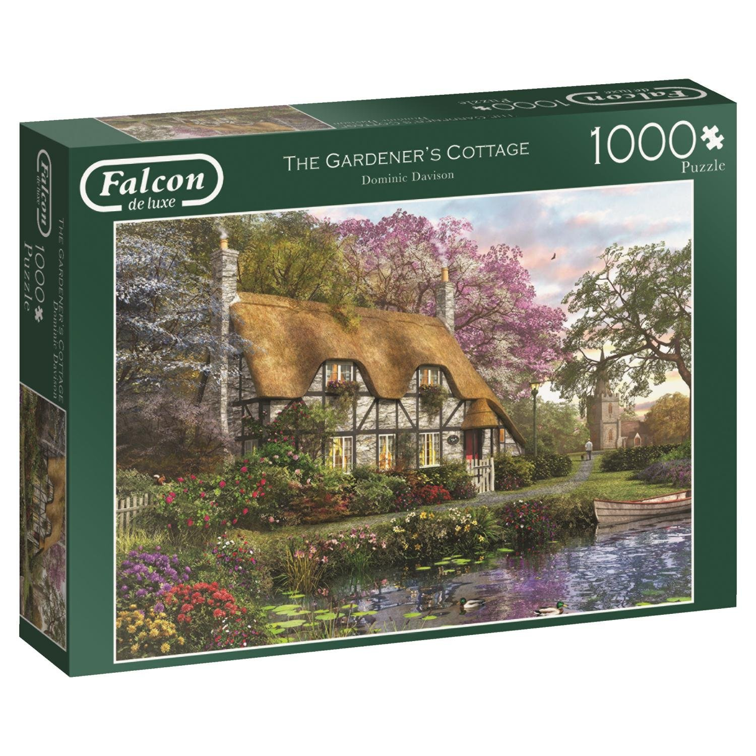 Falcon, Gardeners Cottage, 1000pc Jumbo Jigsaw