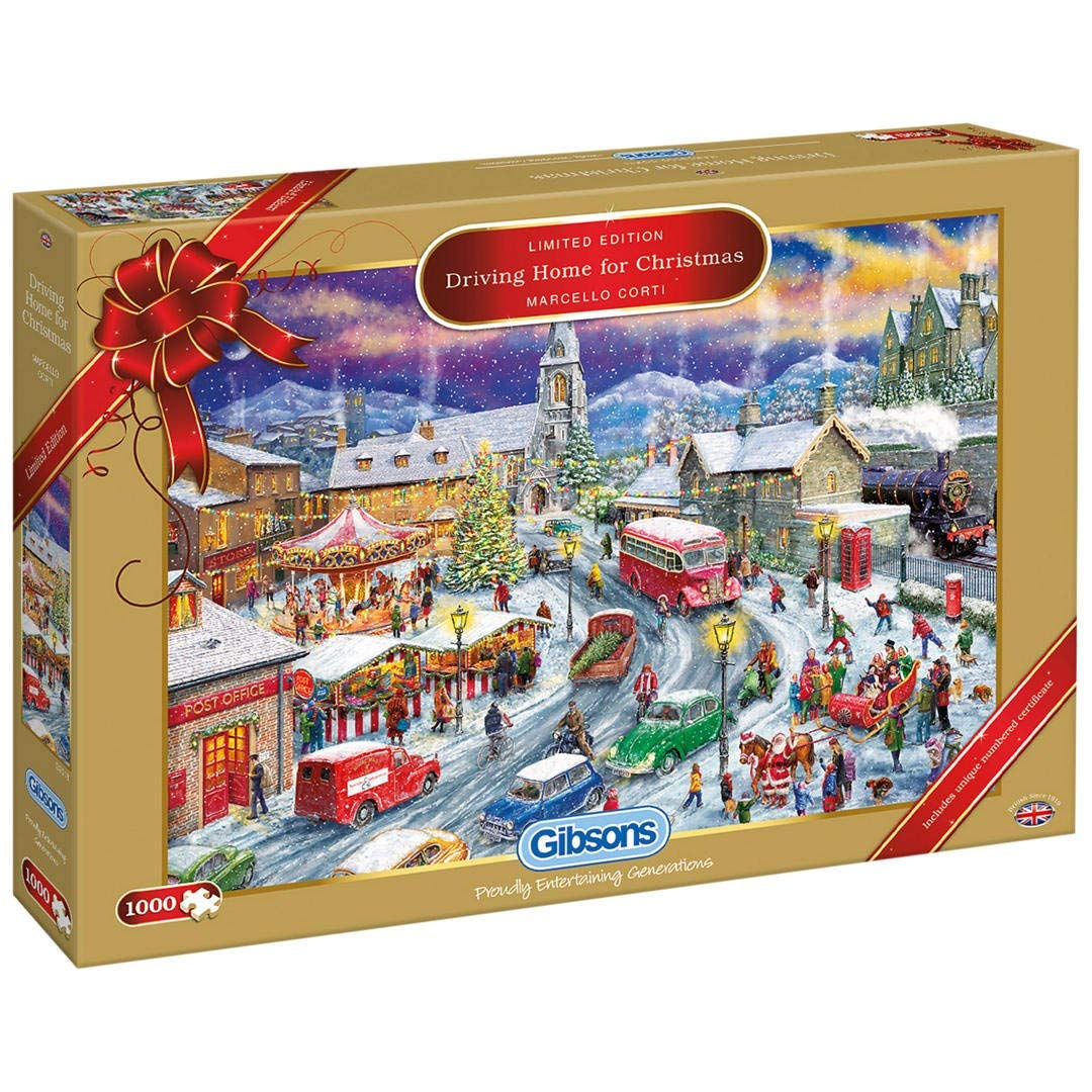 Christmas Limited Edition 2018,  Driving Home For Christmas, 1000pc Puzzle