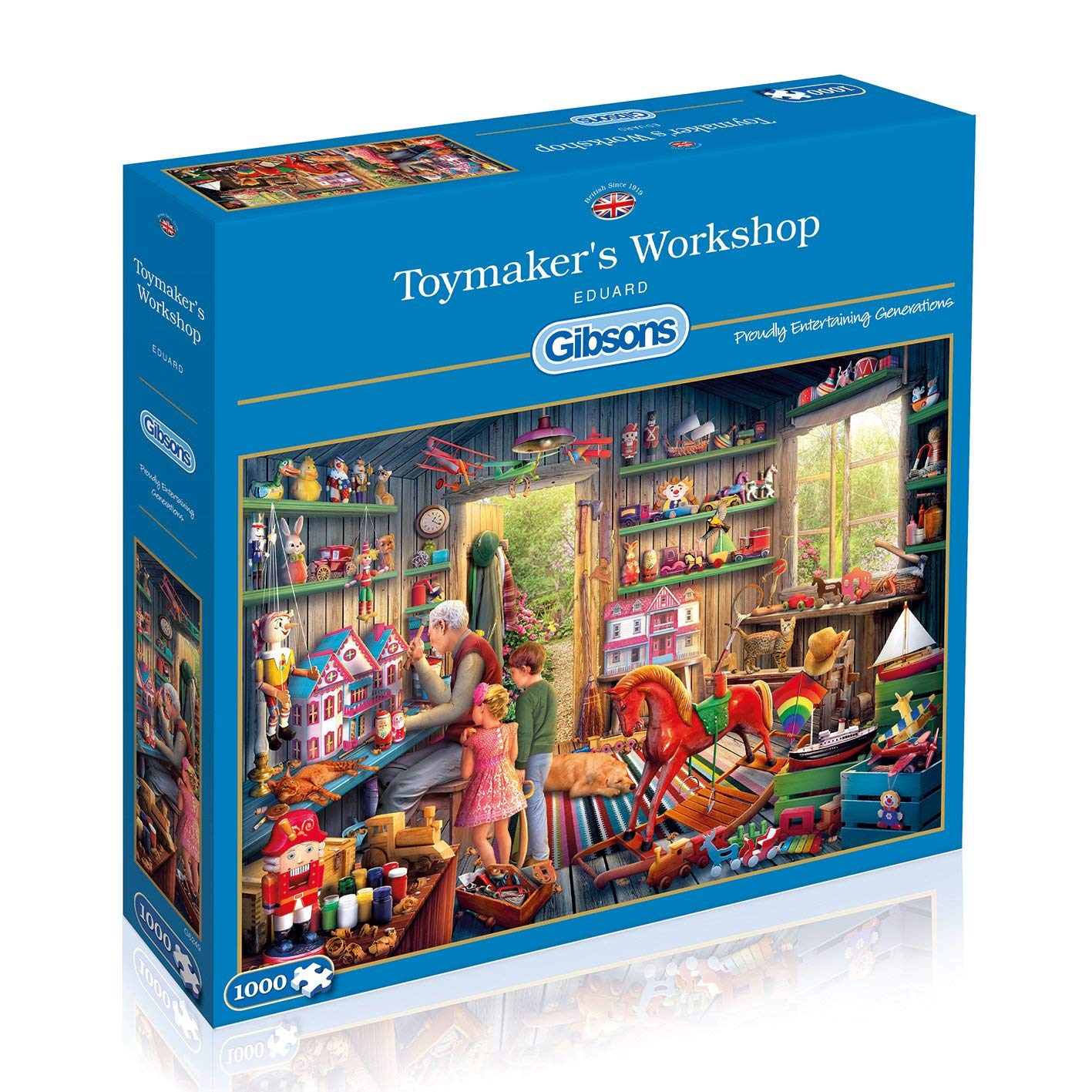 Toymaker's Workshop, 1000pc Puzzle