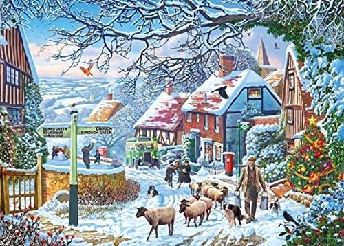 A Winter Stroll, 1000pc Puzzle