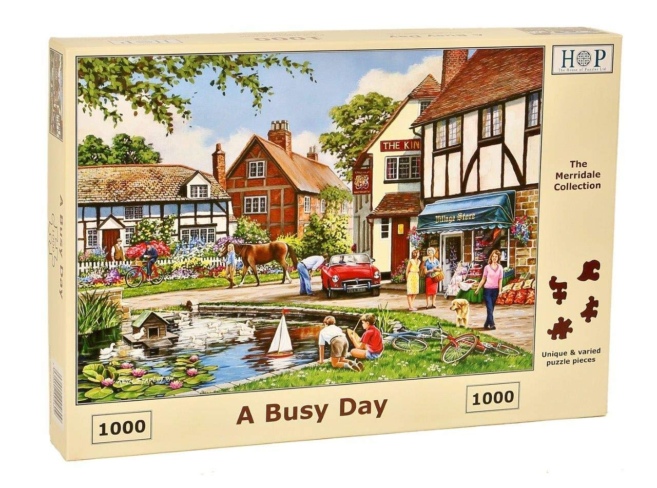A Busy Day, 1000pce Puzzle