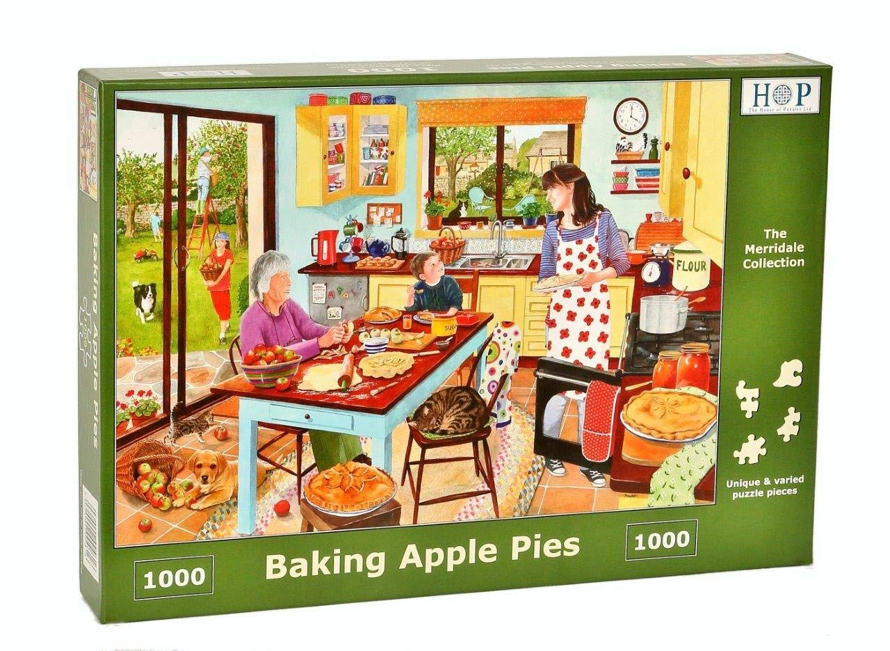 Baking Apple Pies, 1000pce Puzzle
