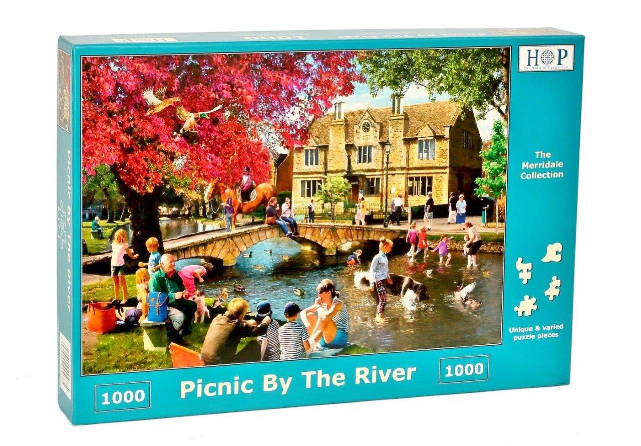 Picnic By The River, 1000pce Puzzle