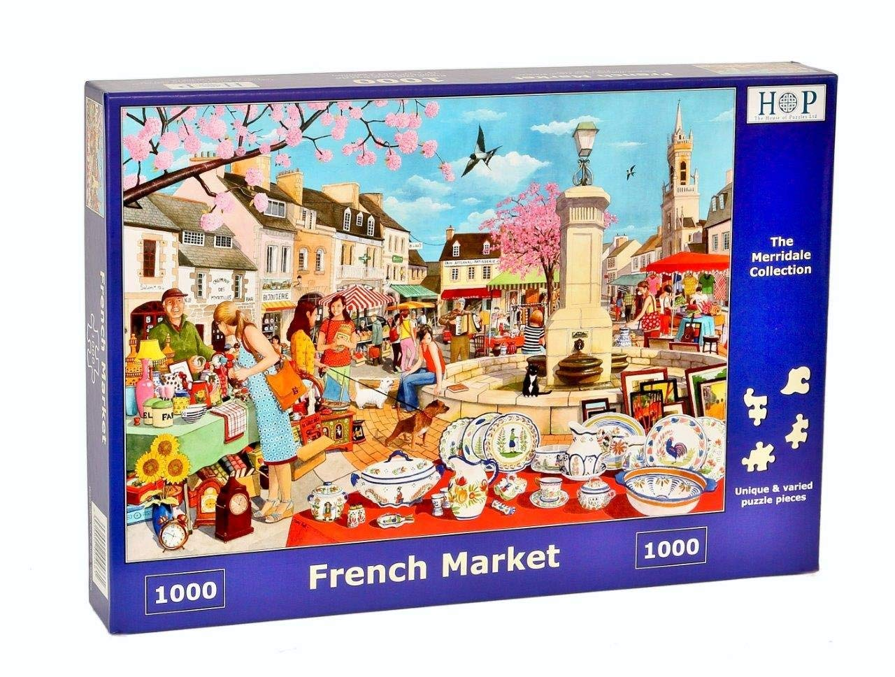 French Market, 1000pce Puzzle