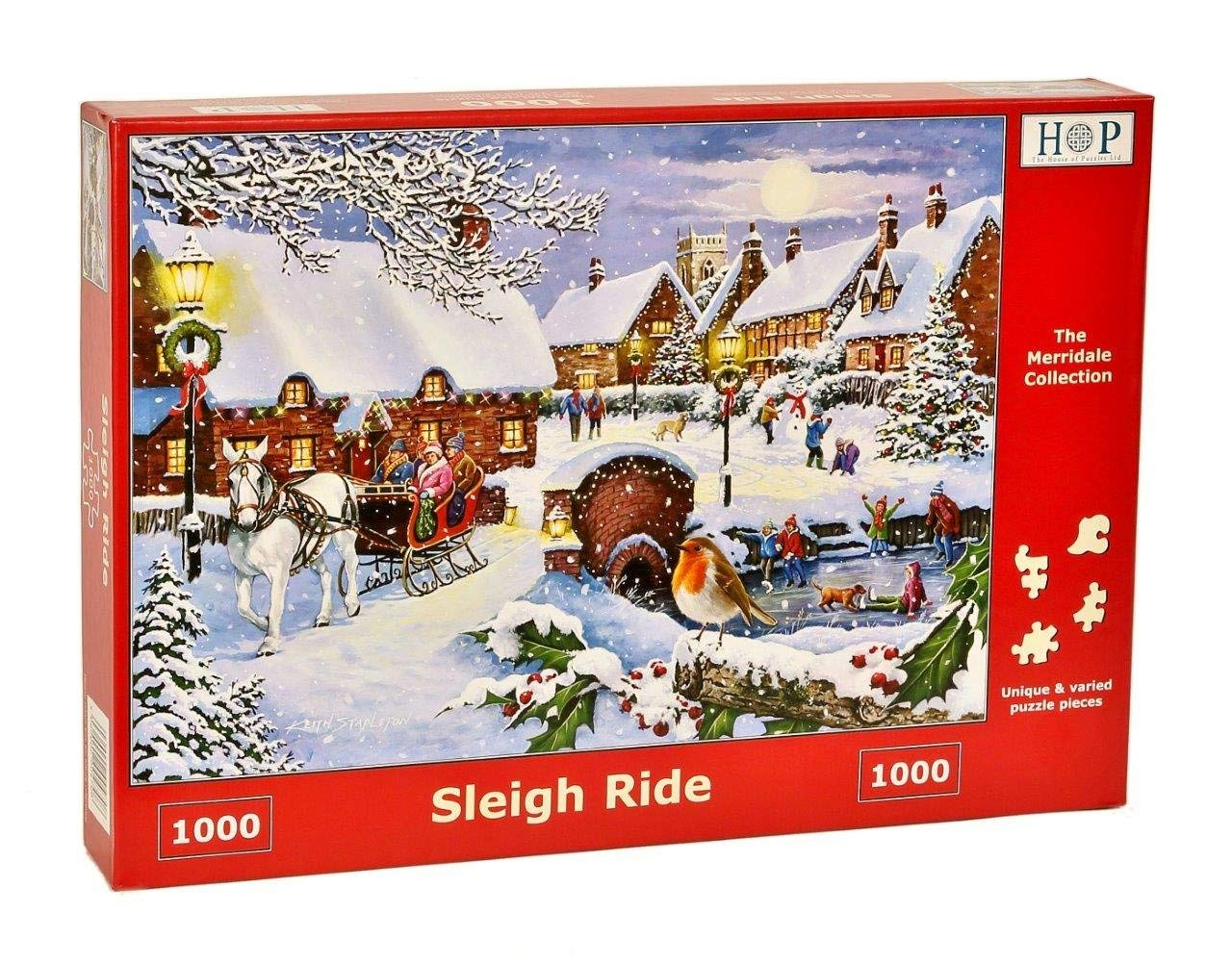 Sleigh Ride, 1000pce, Puzzle