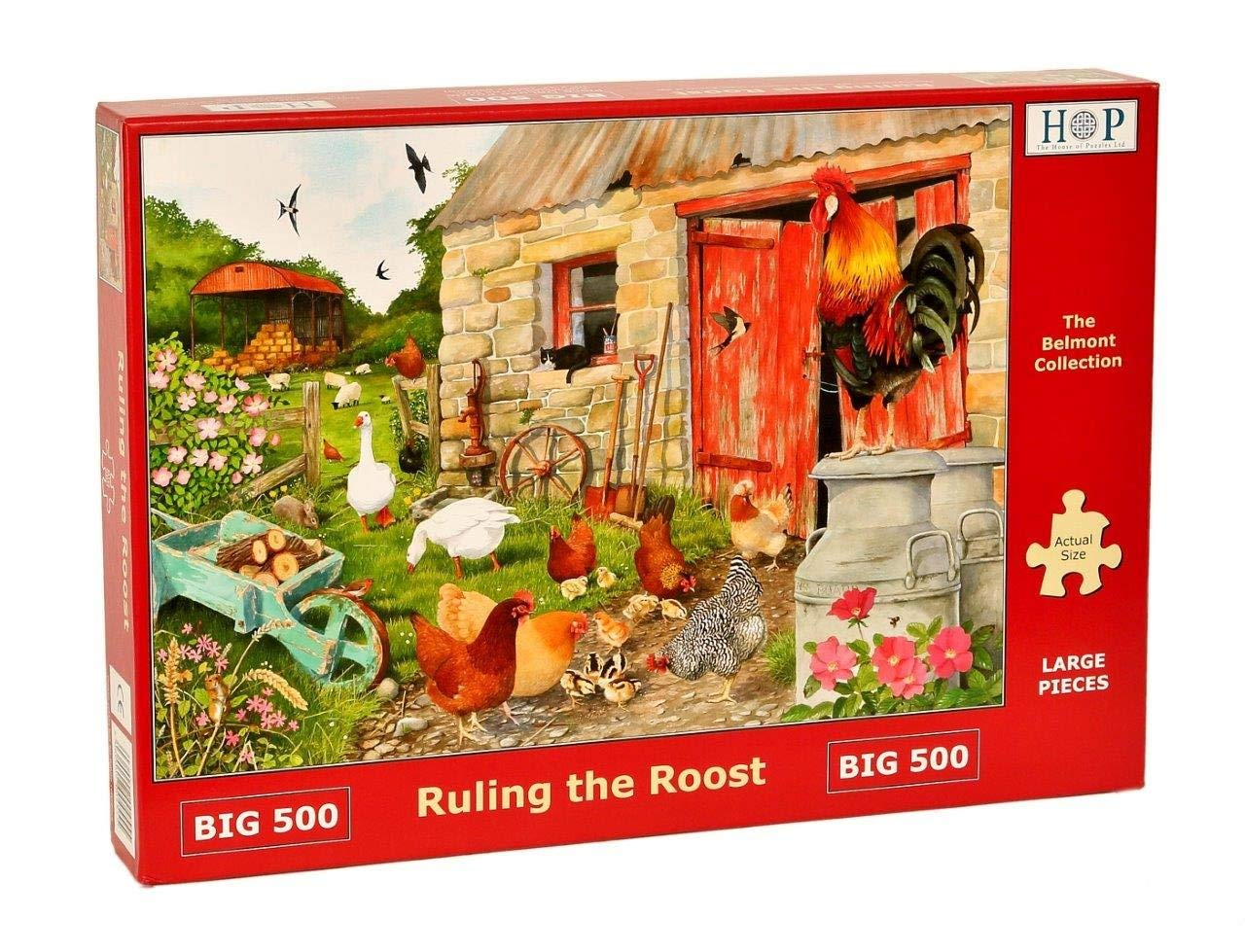 Ruling The Roost, 500xl Puzzle
