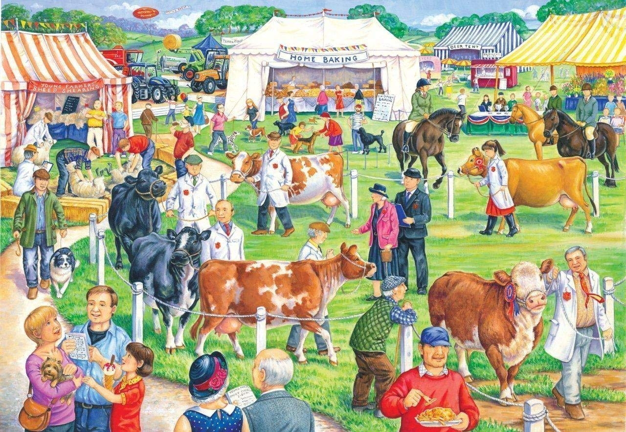 County Show, 500xl pce Puzzle
