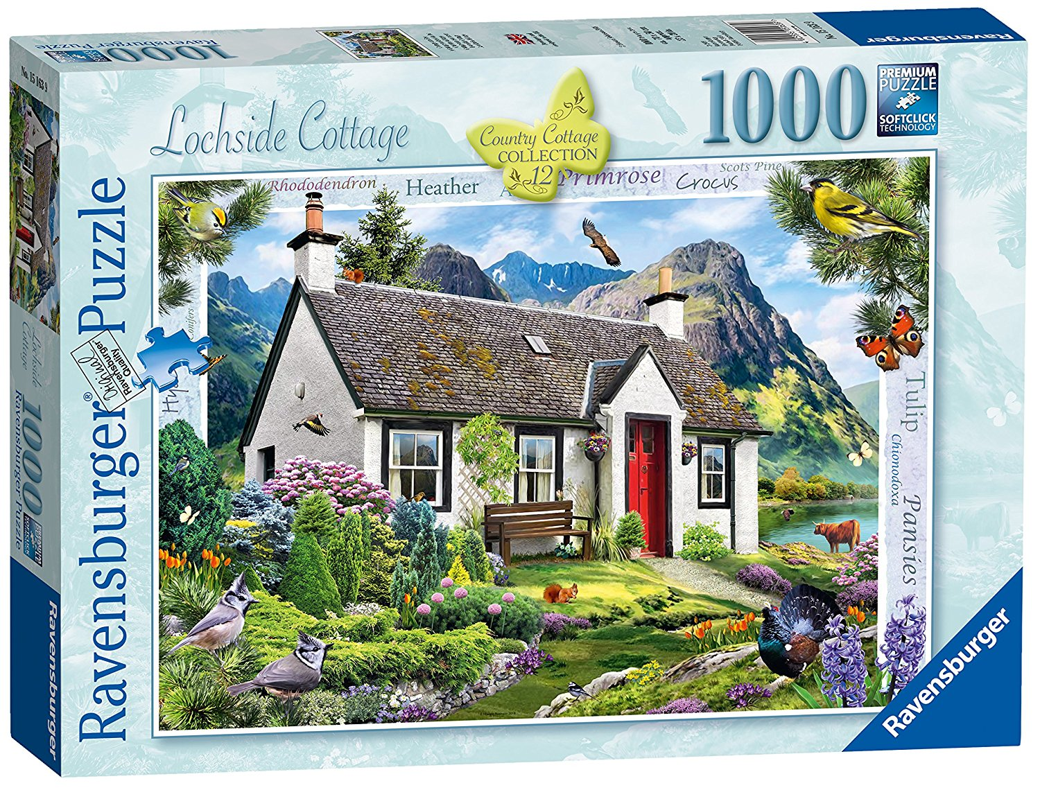 Country Cottage Collection, Lochside Cottage, 1000pc