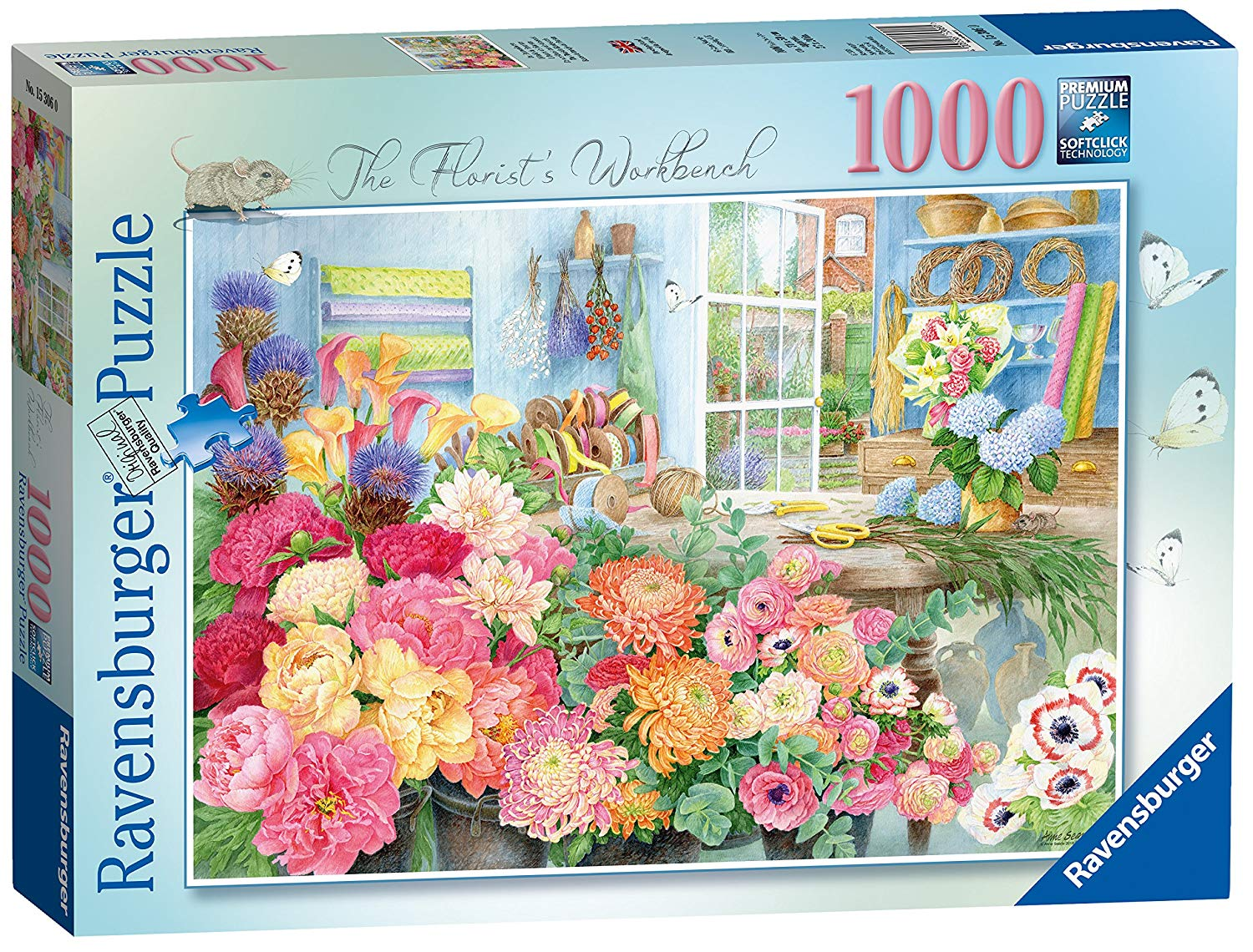 The Florists Bench, 1000pc