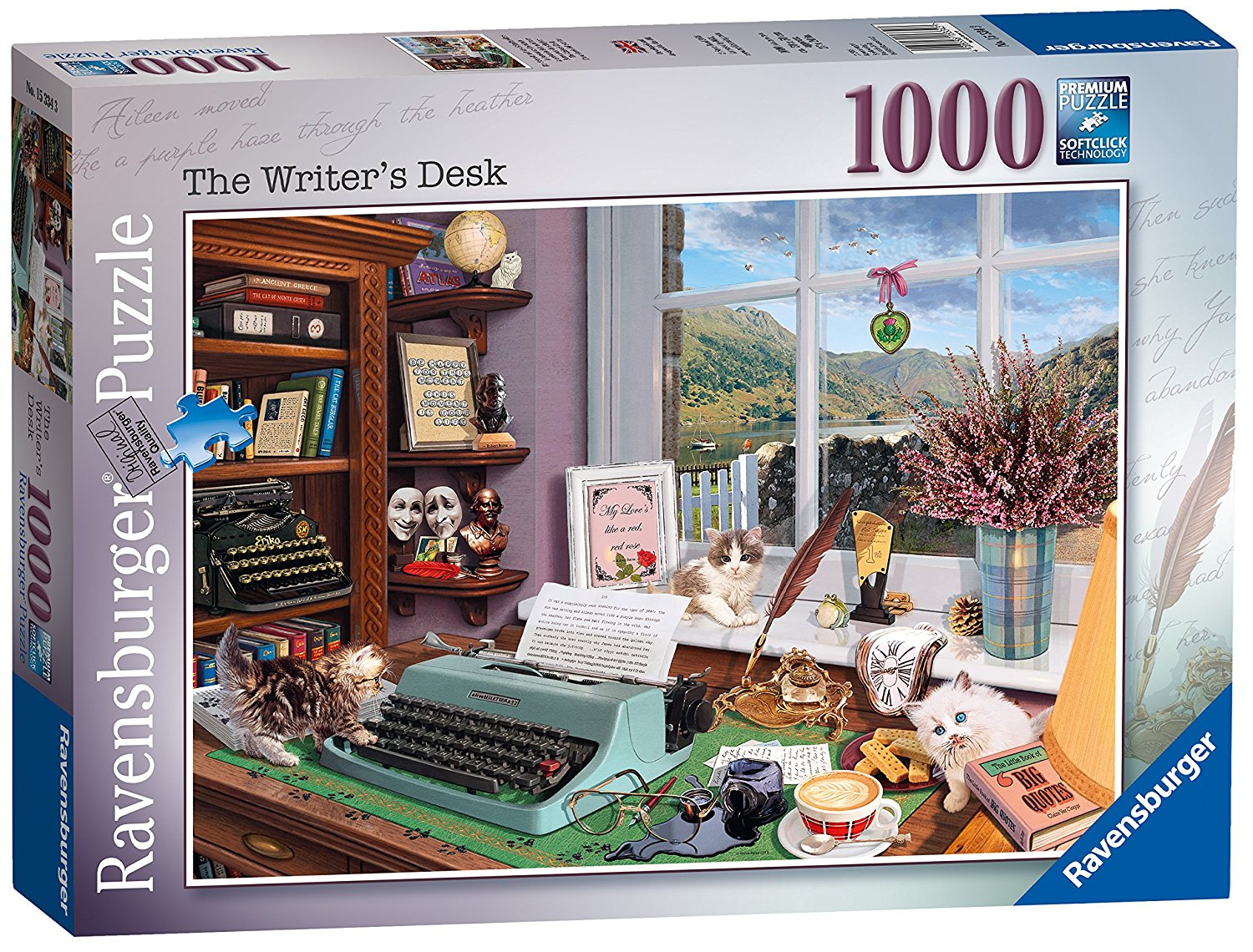 The Writers Desk, 1000pc Puzzle
