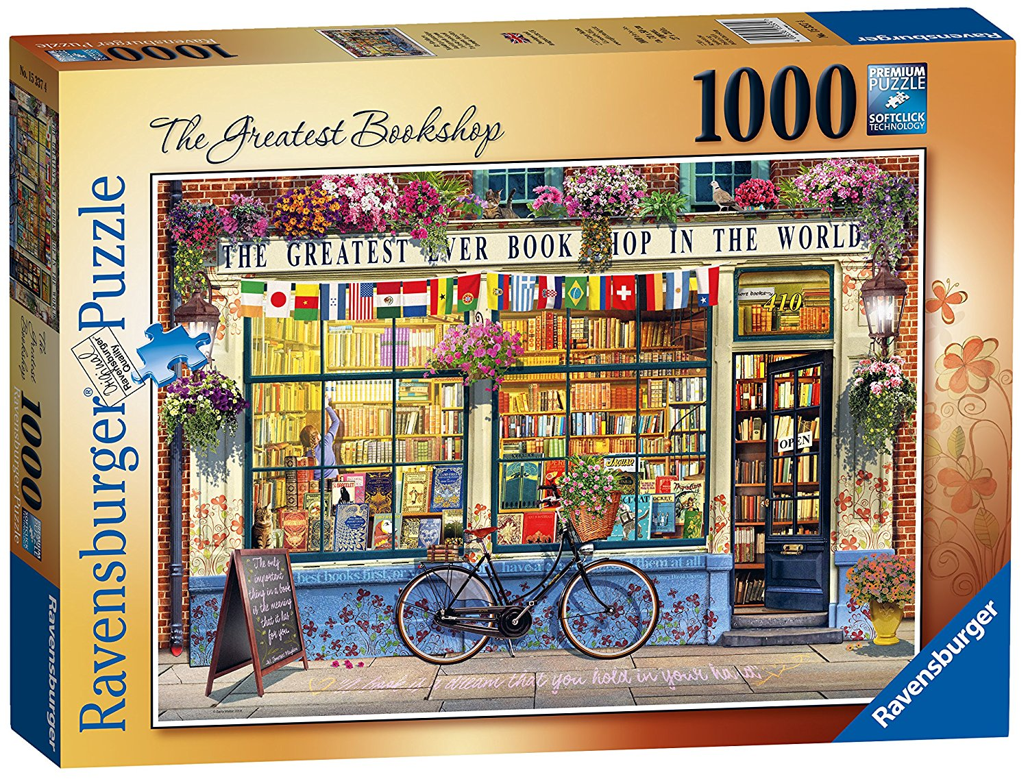 The Greatest Bookshop, 1000pc Puzzle